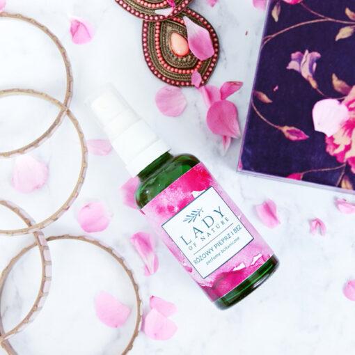 Różowy Pieprz i Bez, Perfumy Wegańskie, 50 ml 2