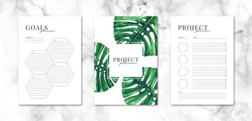 WIeczny Green Planner do samodzielnego wydruku 6