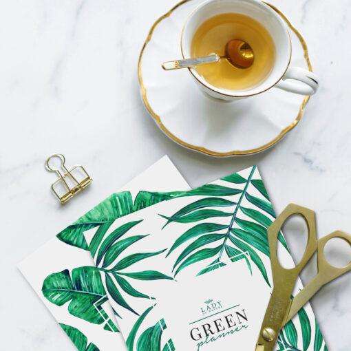 WIeczny Green Planner do samodzielnego wydruku 1